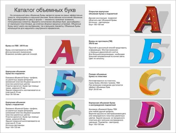 Как сделать объемные прозрачные буквы