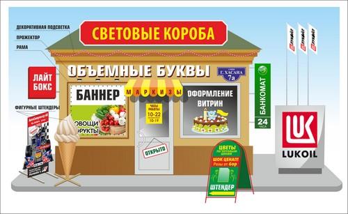 Рекламные конструкции от Медиа